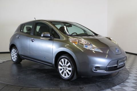 Pre-Owned 2014 Nissan LEAF 4dr HB S Front Wheel Drive Sedan