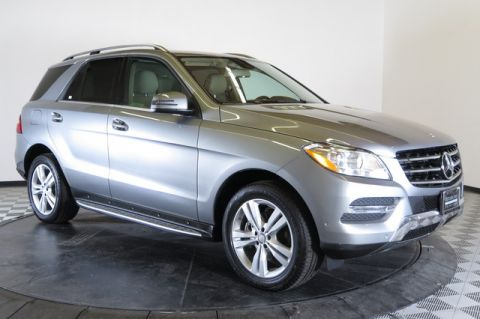 Pre-Owned 2014 Mercedes-Benz M-Class ML350 All Wheel Drive 4MATIC Sport Utility