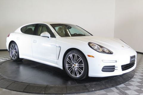 Certified Pre-Owned 2015 Porsche Panamera 4dr HB 4 All Wheel Drive Sedan