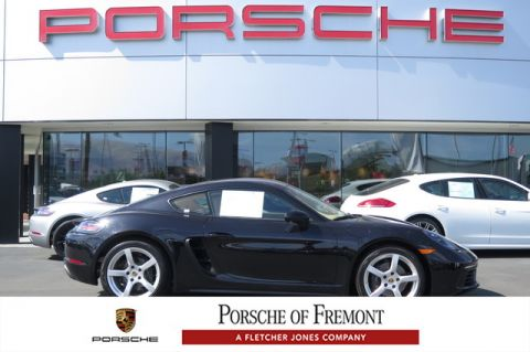 New Porsche 718 Cayman Coupe (Previous Executive Demo w/ 4,600 miles)