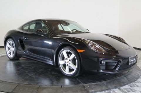 Certified Pre-Owned 2016 Porsche Cayman 2dr Cpe Rear Wheel Drive Coupe