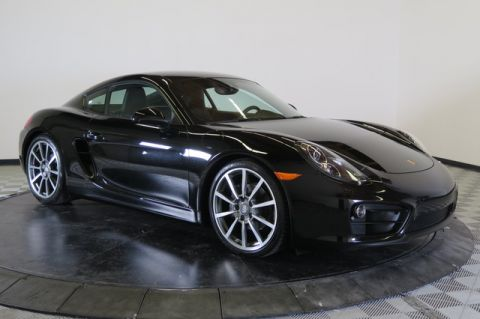 Certified Used Porsche Cayman 2dr Cpe Black Edition