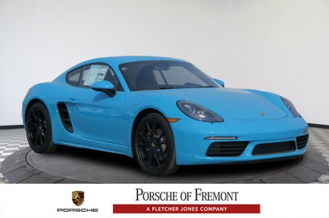 New Porsche 718 Cayman Coupe