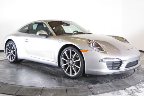 Certified Used Porsche 911 2dr Cpe Carrera