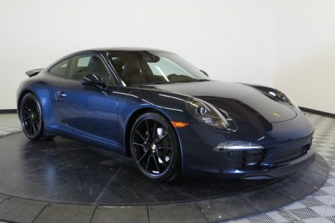 Certified Pre-Owned 2016 Porsche 911 2dr Cpe Carrera Rear Wheel Drive Coupe