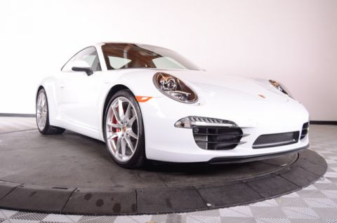 Certified Pre-Owned 2015 Porsche 911 2dr Cpe Carrera S Rear Wheel Drive Coupe