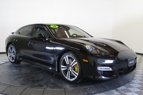 Certified Pre-Owned 2012 Porsche Panamera 4dr HB Turbo