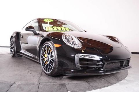 Certified Used Porsche 911 2dr Cpe Turbo S