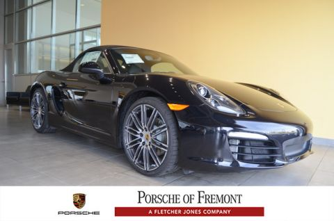New Porsche Boxster Black Edition