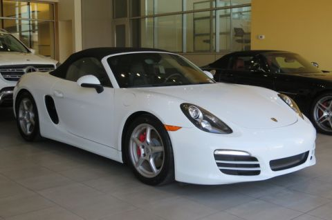 Certified Pre-Owned 2013 Porsche Boxster 2dr Roadster Rear Wheel Drive Coupe