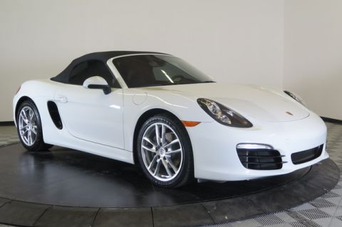 Certified Pre-Owned 2015 Porsche Boxster 2dr Roadster Rear Wheel Drive Convertible