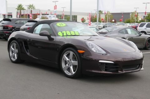 Certified Pre-Owned 2015 Porsche Boxster 2dr Roadster