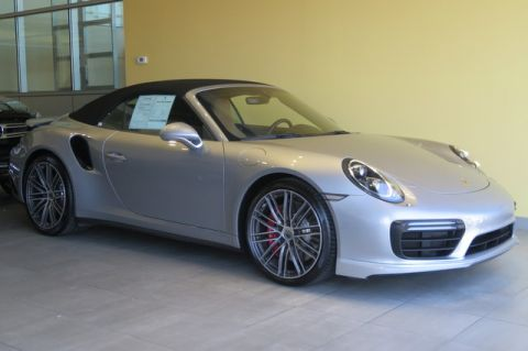 Pre-Owned 2017 Porsche 911 Turbo Cabriolet All Wheel Drive Convertible