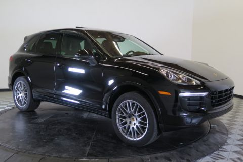 Certified Used Porsche Cayenne Platinum Edition