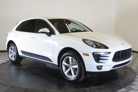 Certified Pre-Owned 2017 Porsche Macan AWD All Wheel Drive SUV