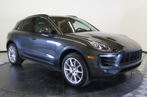 Pre-Owned 2017 Porsche Macan S All Wheel Drive SUV