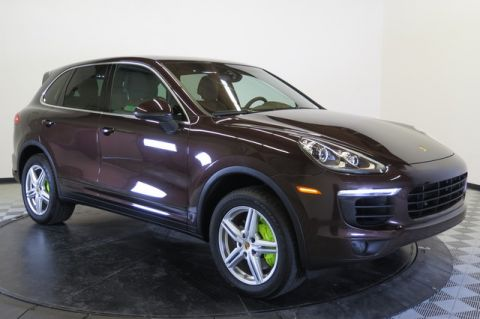 Certified Pre-Owned 2016 Porsche Cayenne AWD 4dr S E-Hybrid All Wheel Drive SUV