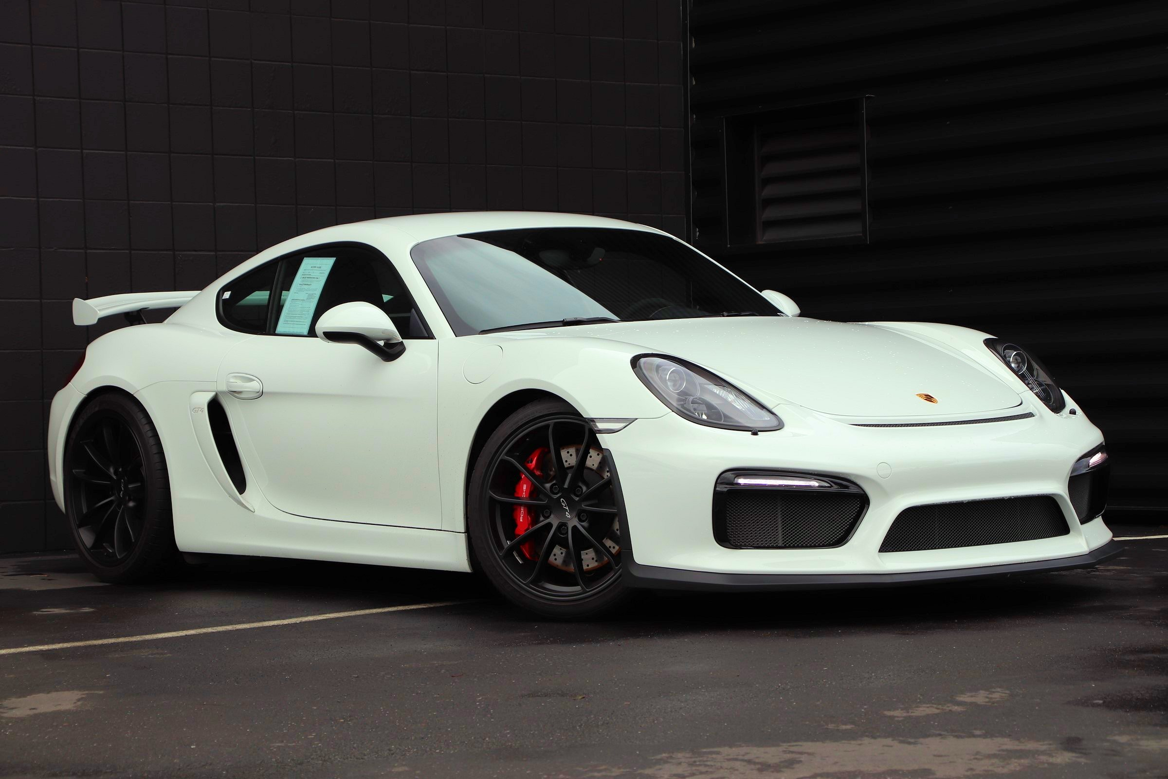 certified pre-owned 2016 porsche cayman gt4 coupe in fremont #p8920