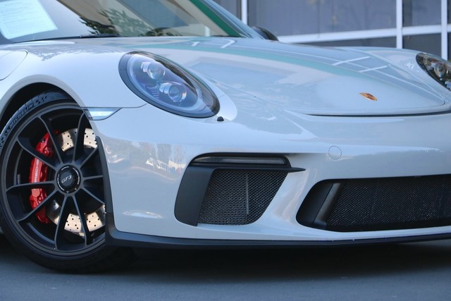 Certified Pre-Owned 2018 Porsche 911 GT3 with Front Axle Lift, Bucket Seats, Sport Chrono