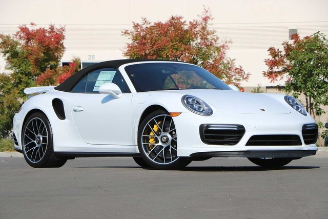 New 2019 Porsche 911 Turbo S Cab