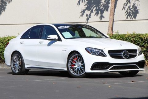 Pre-Owned 2016 Mercedes-Benz C-Class AMG® C63S