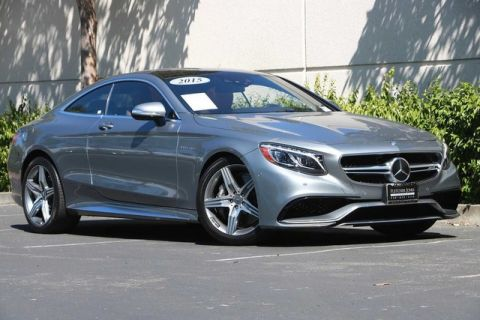 Pre-Owned 2015 Mercedes-Benz S-Class 2dr Cpe S 63 AMG® 4MATIC