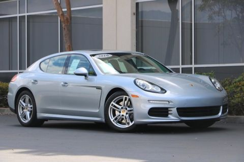 Certified Pre-Owned 2016 Porsche Panamera 4dr HB Edition