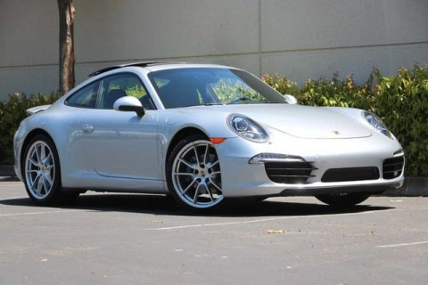 Certified Pre-Owned 2014 Porsche 911 2dr Cpe Carrera