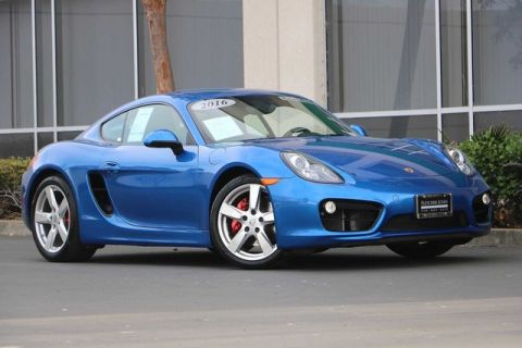 Certified Pre-Owned 2016 Porsche Cayman 2dr Cpe S
