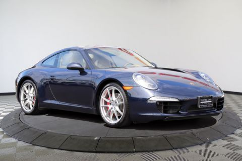 Certified Pre-Owned 2013 Porsche 911 2dr Cpe Carrera S