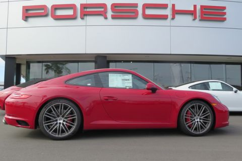New 2018 Porsche 911 Carrera S Coupe