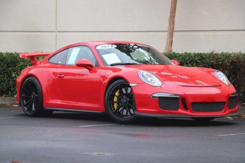 Certified Pre-Owned 2014 Porsche 911 GT3 with PCCB, Sport Chrono, 18-way Seats, Front Axle Lift