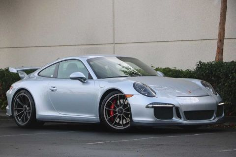 Certified Pre-Owned 2015 Porsche 911 GT3 with Sport Chrono, Navigation