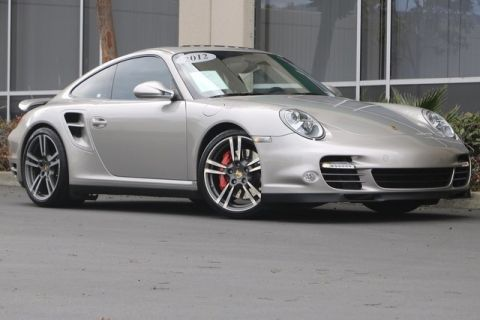 Pre-Owned 2012 Porsche 911 Turbo with Heated & Ventilated Seats, Sport Chrono, Park Assist