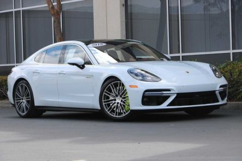 Certified Pre-Owned 2018 Porsche Panamera Turbo S E-Hybrid AWD