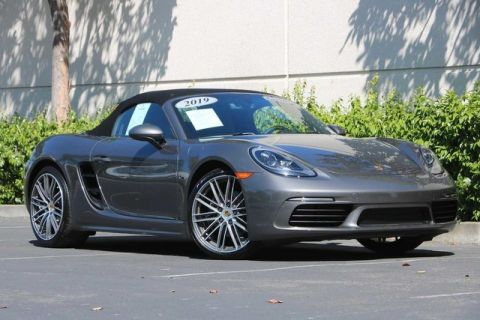 Certified Pre-Owned 2019 Porsche 718 Boxster Roadster