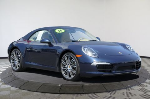 Certified Pre-Owned 2016 Porsche 911 2dr Cabriolet Carrera