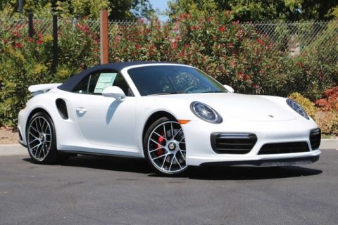 New 2019 Porsche 911 Turbo Cab