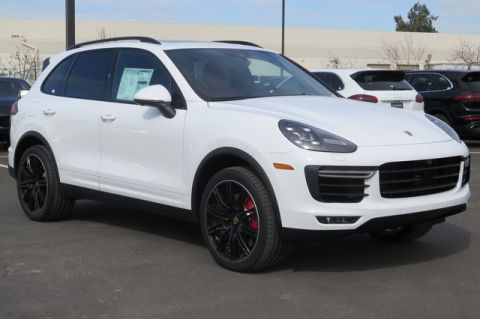 New 2018 Porsche Cayenne Turbo AWD