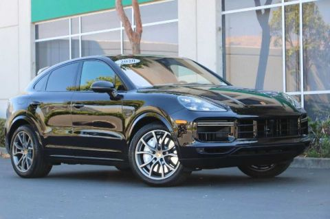 Pre-Owned 2020 Porsche Cayenne Turbo Coupe AWD