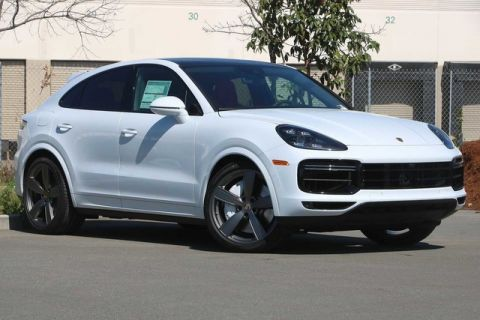 New 2020 Porsche Cayenne Turbo Coupe AWD